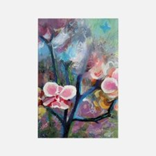 iphone4case_orchidforest Rectangle Magnet