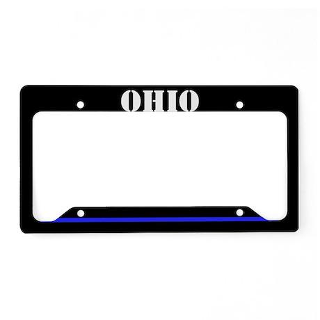 Ohio Police License Plate Holder