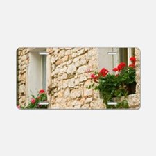 Old stone house, pula, istr Aluminum License Plate