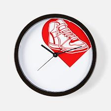 I-Heart-Sneakers-Darks Wall Clock