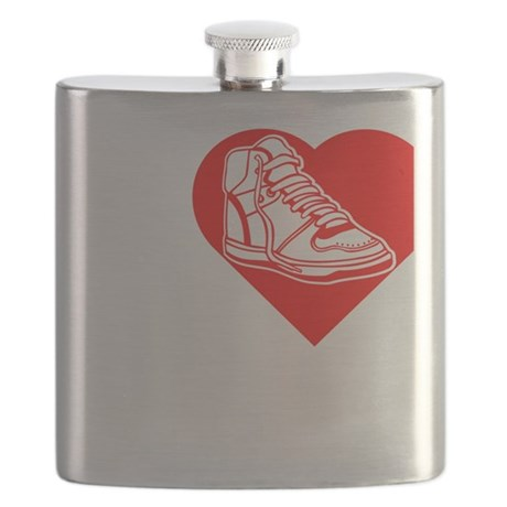 I-Heart-Sneakers-Darks Flask