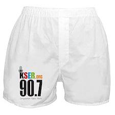 KSER_Logo_Vertical Boxer Shorts