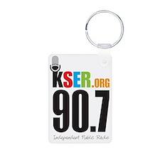 KSER_Logo_Vertical Keychains