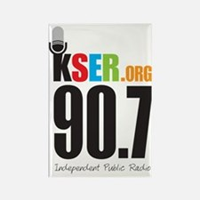 KSER_Logo_Vertical Rectangle Magnet