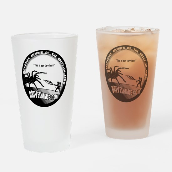 Mob_Tee_button Drinking Glass