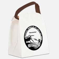 Mob_Tee_button Canvas Lunch Bag