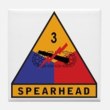 3rd Armored Div Tile Coaster