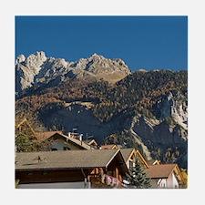 Italy, Trentino - Alto Adige, Bolzano Tile Coaster