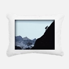 WintersSpireOnTheEdge264 Rectangular Canvas Pillow