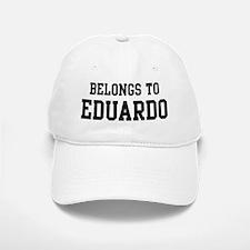 Belongs to Eduardo Baseball Baseball Cap