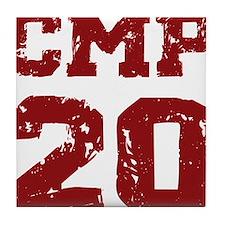 CMP 20 ckletterman Tile Coaster