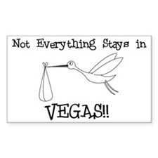 Not Everything Stays in Vegas Decal