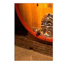 In the wine cellar: la de Postcards (Package of 8)