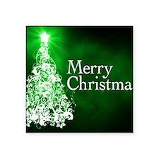 """Christmas Square Sticker 3"""" x 3"""""""