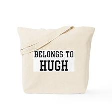 Belongs to Hugh Tote Bag