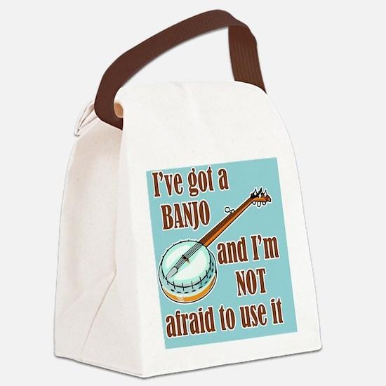shoulderBanjoUse Canvas Lunch Bag