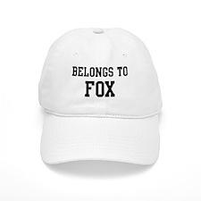 Belongs to Fox Baseball Cap