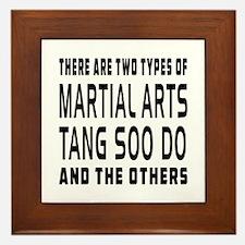 Tang Soo do Designs Framed Tile