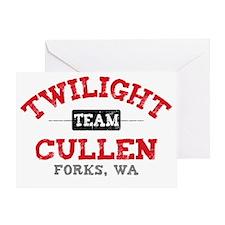 Team Cullen Paj Greeting Card