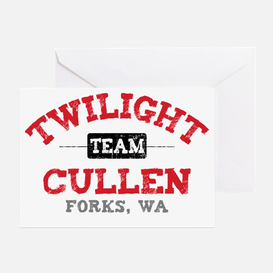 Team Cullen Paj Greeting Card