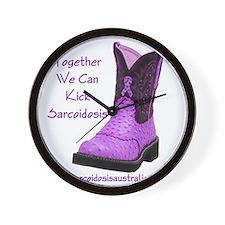 Together We Can Kick Sarcoidosis Wall Clock