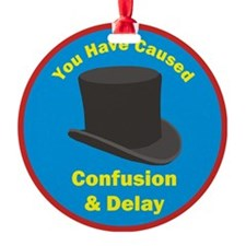 topham hat. Ornament