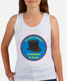 topham hat. Women's Tank Top