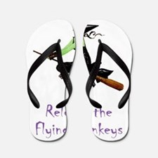 WITCH_Flying Monkeys 5 Flip Flops