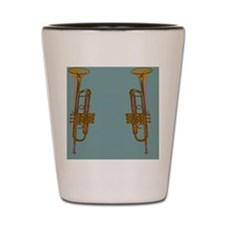 flipflopTrumpetBlew Shot Glass