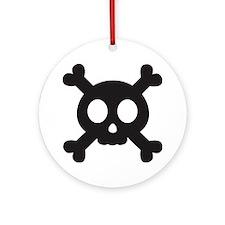 cpskull Round Ornament