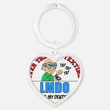 LMDO Heart Keychain