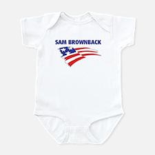 Fun Flag: SAM BROWNBACK Infant Bodysuit