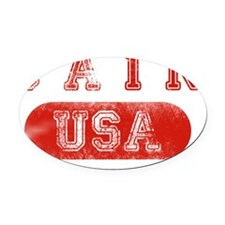 CAIN Oval Car Magnet