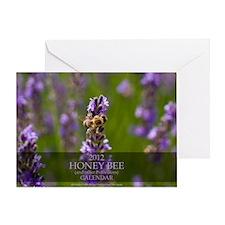 Wall Calendar-Bee and Pollinators-Co Greeting Card