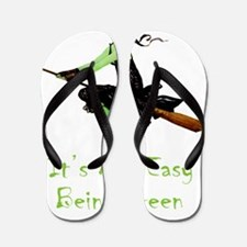 WITCH_Green Flip Flops