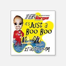 "Booboo2_rgb Square Sticker 3"" x 3"""