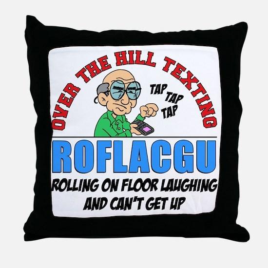 ROFLACGU Shirt Throw Pillow