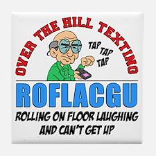 ROFLACGU Shirt Tile Coaster