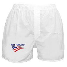 Fun Flag: RUSS FEINGOLD Boxer Shorts