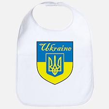 Ukraine Flag Crest Shield Bib