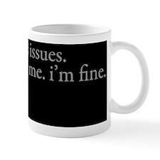 issues Pillow Small Mug