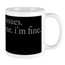 issues Pillow Small Small Mug