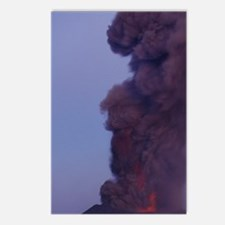 Mt. Etna summit vent, Sic Postcards (Package of 8)