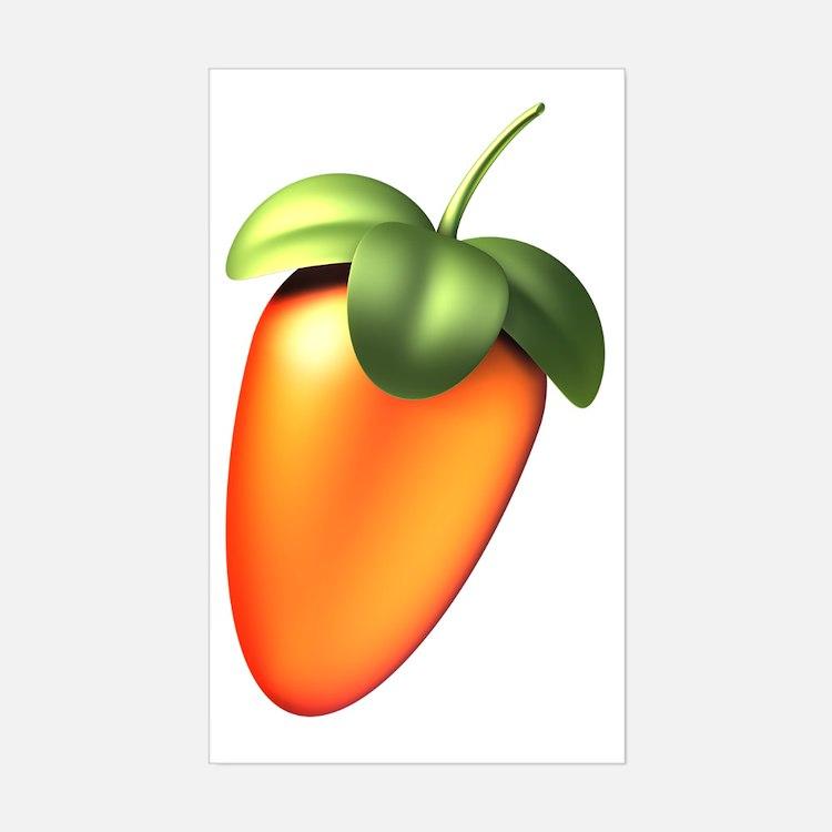 Fruit Sticker (Rectangle)