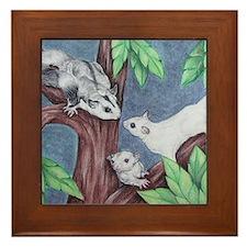 trio Framed Tile