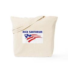 Fun Flag: RICK SANTORUM Tote Bag