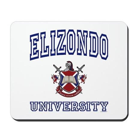 ELIZONDO University Mousepad