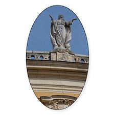 Historic baroque Kalocsa Cathedral, Decal