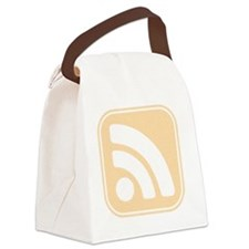 InkRSSICONfaded Canvas Lunch Bag