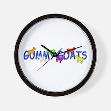 Gummy Goats Wall Clock